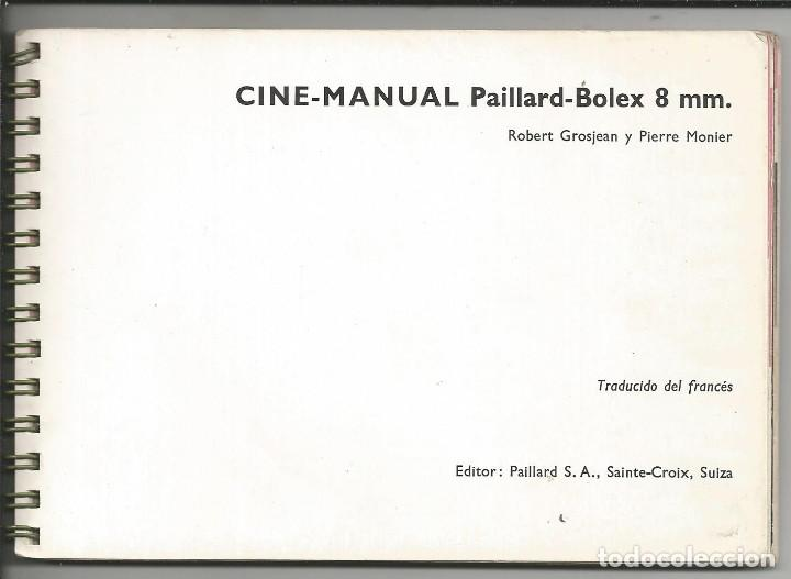Cámara de fotos: CINE MANUAL, BOLEX-PAILLARD, 8 MM ( AÑO 1957) - Foto 4 - 193447705