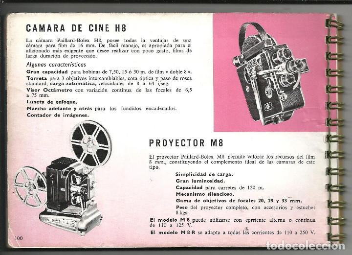 Cámara de fotos: CINE MANUAL, BOLEX-PAILLARD, 8 MM ( AÑO 1957) - Foto 5 - 193447705