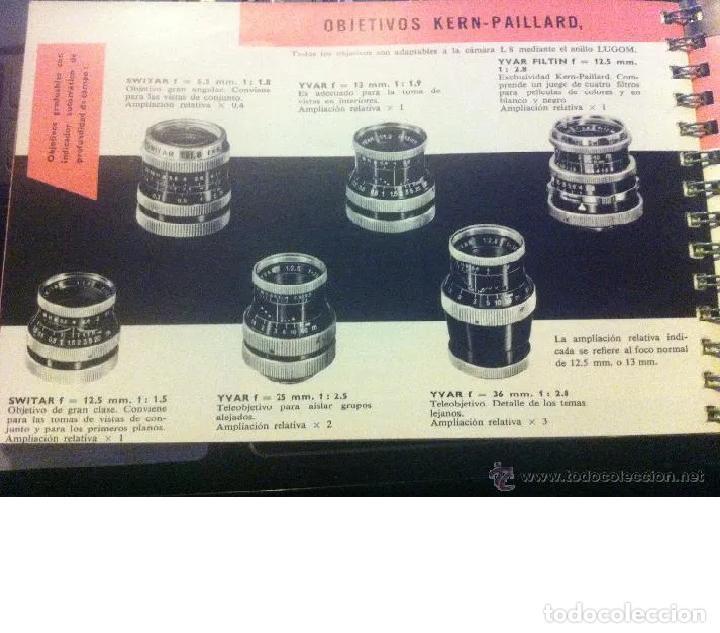 Cámara de fotos: CINE MANUAL, BOLEX-PAILLARD, 8 MM ( AÑO 1957) - Foto 7 - 193447705