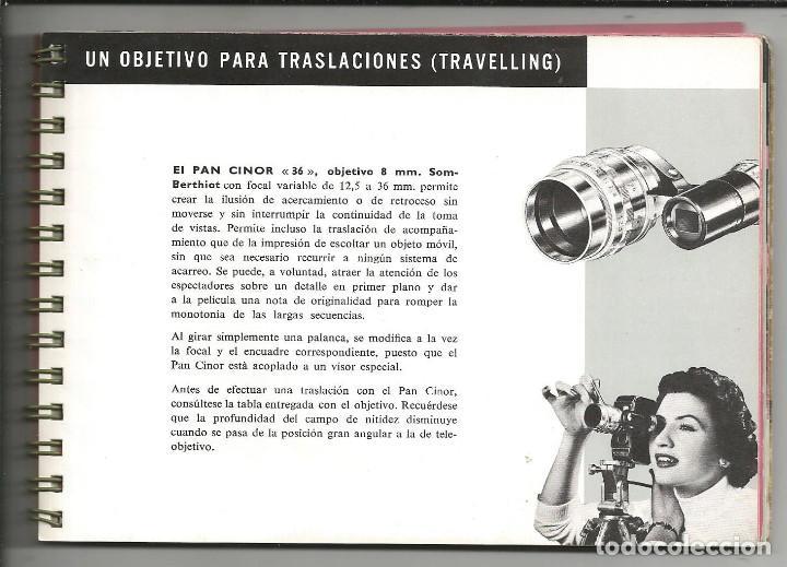 Cámara de fotos: CINE MANUAL, BOLEX-PAILLARD, 8 MM ( AÑO 1957) - Foto 8 - 193447705