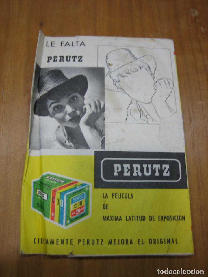 PORTA NEGATIVOS PERUTZ (Cámaras Fotográficas - Catálogos, Manuales y Publicidad)