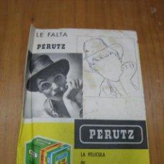 Cámara de fotos: PORTA NEGATIVOS PERUTZ . Lote 193751096
