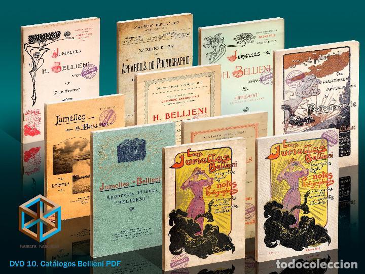 DVD. 10 CATÁLOGOS BELLIENI (Cámaras Fotográficas - Catálogos, Manuales y Publicidad)