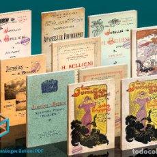 Cámara de fotos: DVD. 10 CATÁLOGOS BELLIENI. Lote 193936112