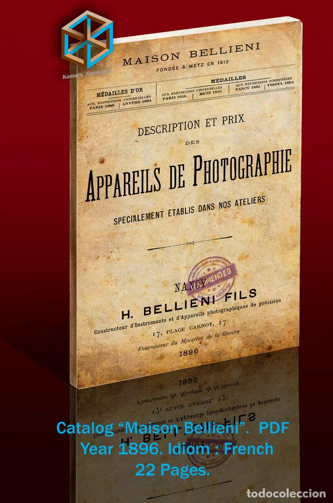 Cámara de fotos: DVD. 10 Catálogos Bellieni - Foto 3 - 193936112