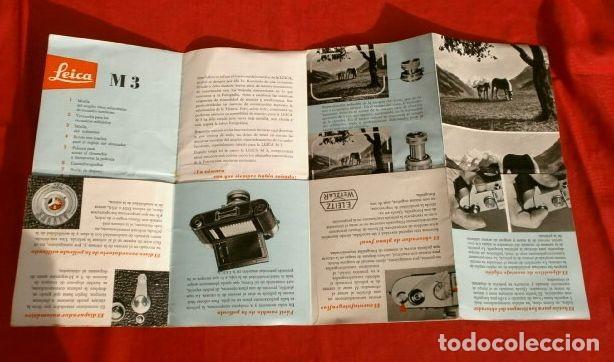 Cámara de fotos: LEICA M3 (AÑOS 50) CATALOGO FUNCIONAMIENTO DE LA CAMARA (EN ESPAÑOL) CASA PALAU ERNSTLEITZ GMBH - Foto 2 - 194011252