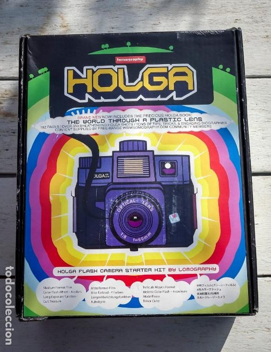 Cámara de fotos: Holga CFN 120 - lomography - cámara fotográfica - Foto 3 - 194240233