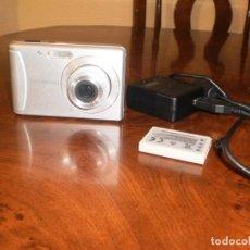 Cámara de fotos: VENDO CÁMARA DE FOTOS Y VIDEO OLYMPUS T-100. 12 MEGAPIXEL+ZOOM + MEMORIA INTERNA + BATERÍA NUEVA. Lote 194367741