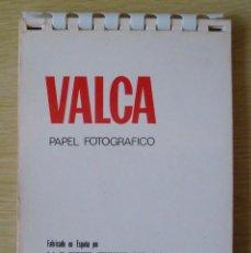 Cámara de fotos: VALCA : CATALOGO DE PAPELES FOTOGRAFICOS (POSIBLEMENTE MEDIADOS AÑOS 60). Lote 194367981