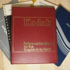 Cámara de fotos: KODAK - CINCO MANUALES. Lote 194492656