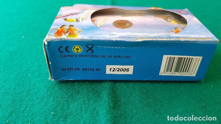 Cámara de fotos: CAMARA DE FOTOS DESECHABLE FOTOKWIK ISO 400 FLASH 24 + 3 FOTOS (CADUCA EN 2006) - Foto 4 - 194537070