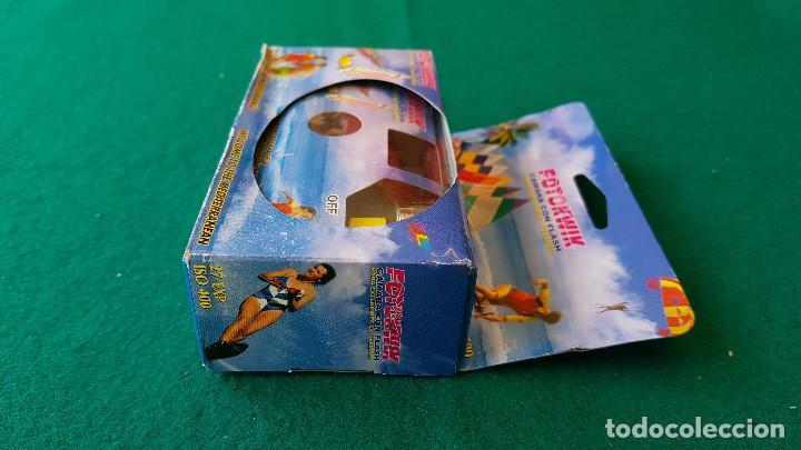 Cámara de fotos: CAMARA DE FOTOS DESECHABLE FOTOKWIK ISO 400 FLASH 24 + 3 FOTOS (CADUCA EN 2006) - Foto 5 - 194537070
