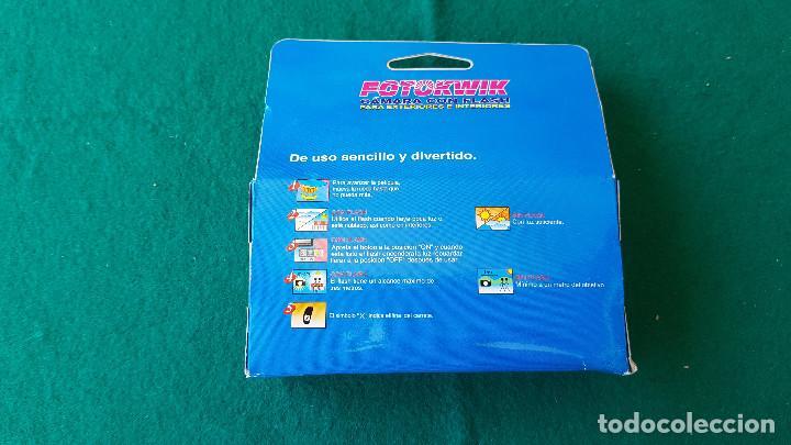 Cámara de fotos: CAMARA DE FOTOS DESECHABLE FOTOKWIK ISO 400 FLASH 24 + 3 FOTOS (CADUCA EN 2006) - Foto 6 - 194537070