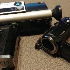 Cámara de fotos: LOTE DE DOS CAMARAS DE VIDEO MINOLTA SUPER 8 Y PANASONIC HCD-SD40. Lote 194626240