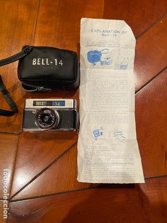 CAMARA MINIATURA BELL 14 (Cámaras Fotográficas - Otras)