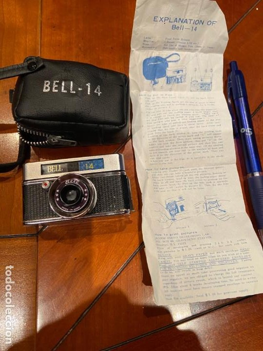 Cámara de fotos: CAMARA MINIATURA BELL 14 - Foto 2 - 194878652
