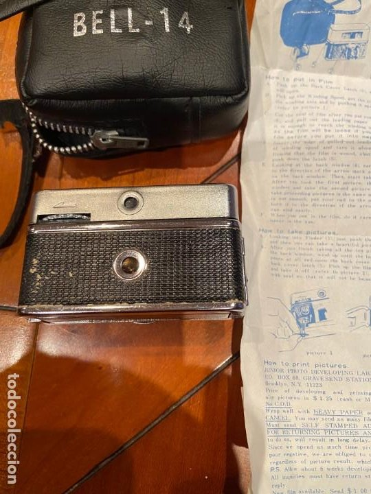 Cámara de fotos: CAMARA MINIATURA BELL 14 - Foto 4 - 194878652