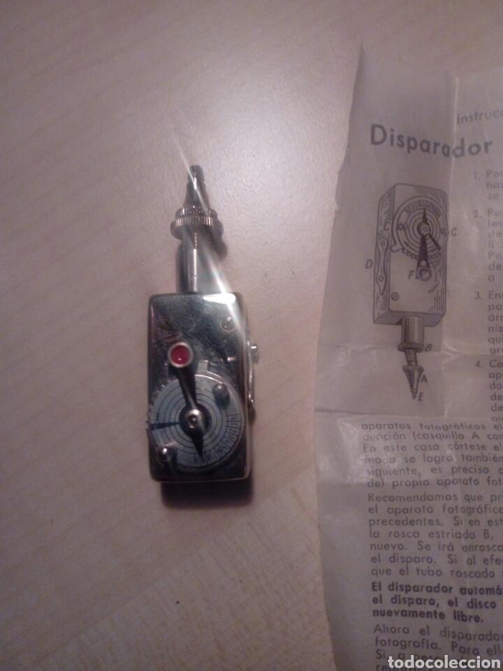 Cámara de fotos: Disparador para cámara fotografica - germany de klapprott and lampe hamgurg con hoja d instruccione - Foto 2 - 194903143
