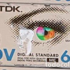 Cámara de fotos: CINTA MINI DV DIGITAL 60 MIN. TDK (PRECINTADA). Lote 194971161