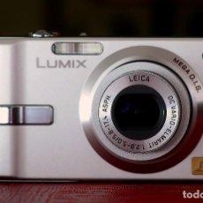 Cámara de fotos: CÁMARA DIGITAL PANASONIC LUMIX DMC-FX10. Lote 195007842