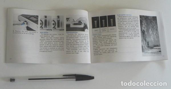 Cámara de fotos: MANUAL INSTRUCCIONES DE LA CÁMARA RÉFLEX MINOLTA X-300 -EN INGLÉS - GUÍA DE USO DE X300 - FOTOGRAFÍA - Foto 3 - 195120513