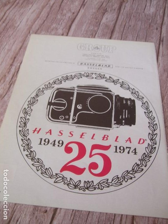 RECORTE ANUNCIO PUBLICITARIO HASSELBLAD (Cámaras Fotográficas - Catálogos, Manuales y Publicidad)