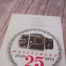 Cámara de fotos: RECORTE ANUNCIO PUBLICITARIO HASSELBLAD. Lote 195169665