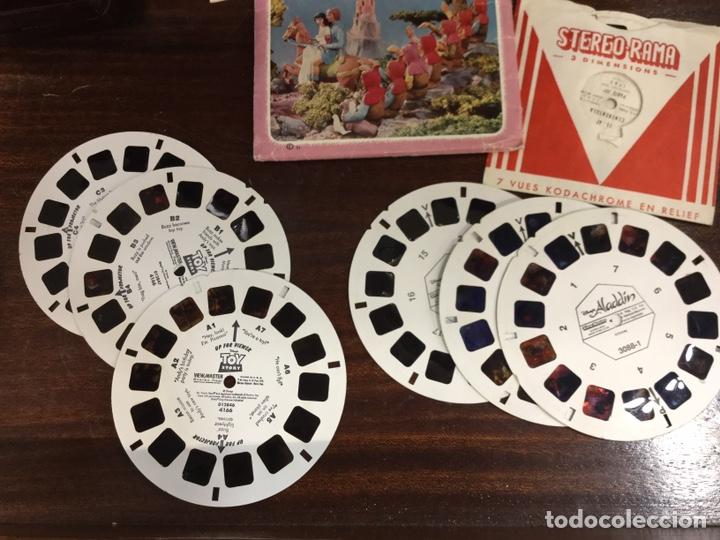 Cámara de fotos: VISOR ANTIGUO DE BAQUELITA WIEW- MÁSTER 3 D - ESTEREOSCOPIO CON 25 DIAPOSITIVAS VARIADAS - Foto 11 - 195220912