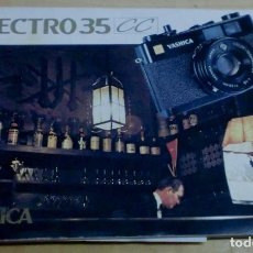 Cámara de fotos: MANUAL YASHICA ELECTRO 35 CC . Lote 195267238