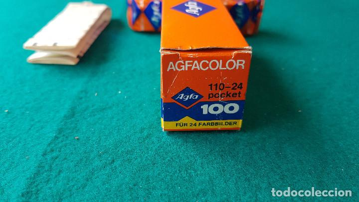 Cámara de fotos: CARRETE DE 24 FOTOS AGFA-GEVAERT COLOR ASA/ISO 100 (CADUCA 1984) - COLECCIONISMO - Foto 4 - 195304991