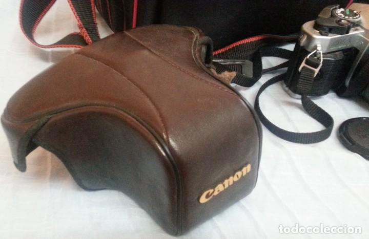 Cámara de fotos: Cámara de fotos CANON AE-1. En perfecto estado de funcionamiento. - Foto 3 - 195334601