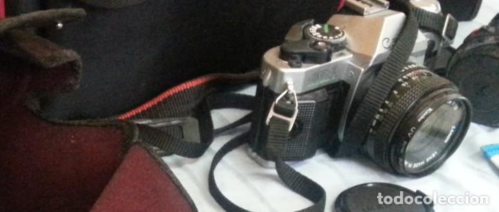 Cámara de fotos: Cámara de fotos CANON AE-1. En perfecto estado de funcionamiento. - Foto 4 - 195334601