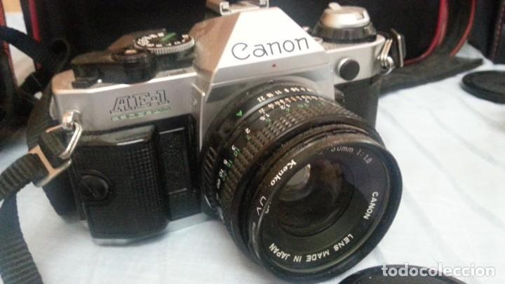 Cámara de fotos: Cámara de fotos CANON AE-1. En perfecto estado de funcionamiento. - Foto 5 - 195334601