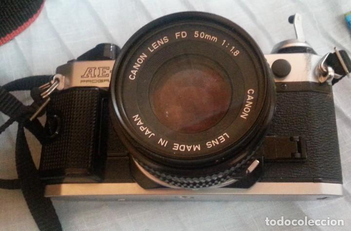 Cámara de fotos: Cámara de fotos CANON AE-1. En perfecto estado de funcionamiento. - Foto 7 - 195334601