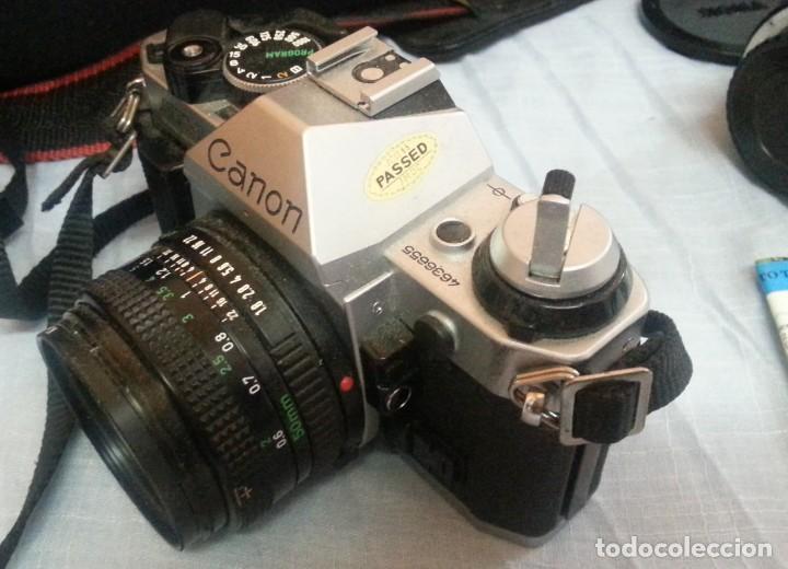 Cámara de fotos: Cámara de fotos CANON AE-1. En perfecto estado de funcionamiento. - Foto 8 - 195334601
