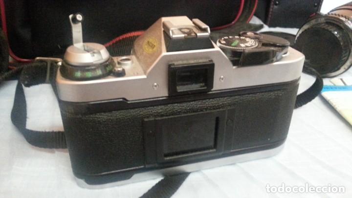 Cámara de fotos: Cámara de fotos CANON AE-1. En perfecto estado de funcionamiento. - Foto 9 - 195334601