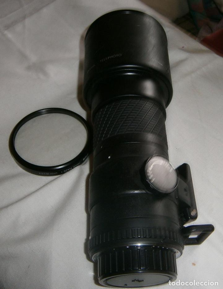 Cámara de fotos: teleobjetivo sigma con filtro tiffen 72mm hazel made in usa - Foto 2 - 195339051