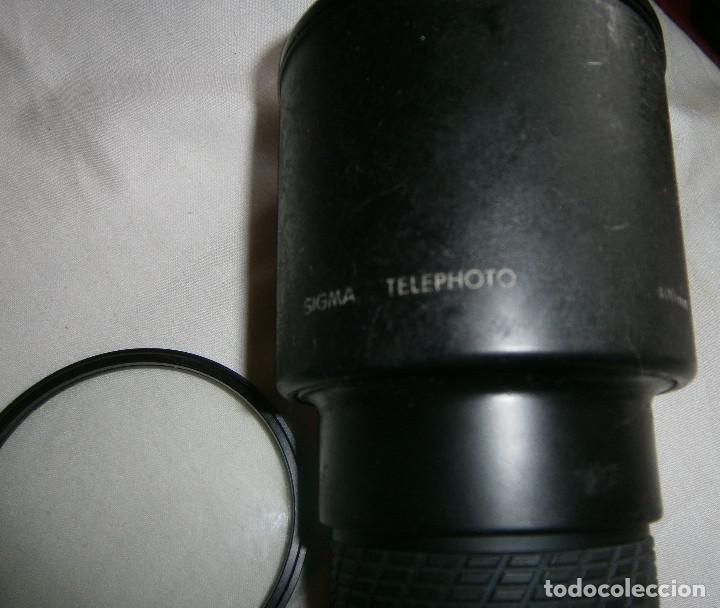 Cámara de fotos: teleobjetivo sigma con filtro tiffen 72mm hazel made in usa - Foto 3 - 195339051