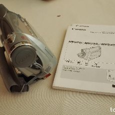 Cámara de fotos: VIDEOCAMARA CANON MV850I. Lote 195458305