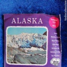 Fotocamere: DIAPOSITIVAS VIEWMASTER ALASKA. Lote 195640205