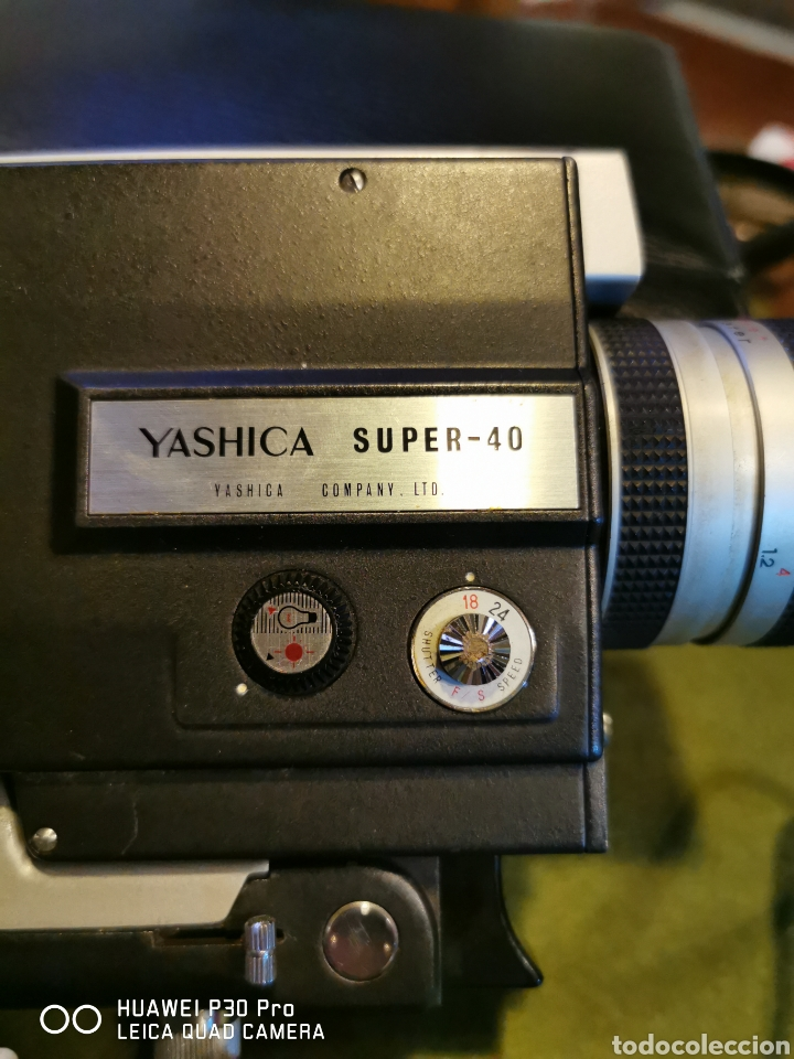 Cámara de fotos: Cámara Tomavistas Yashica súper 40 - Foto 4 - 196097178