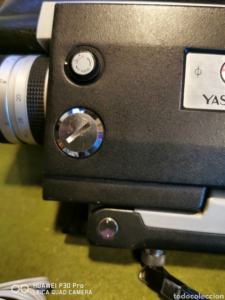 Cámara de fotos: Cámara Tomavistas Yashica súper 40 - Foto 7 - 196097178