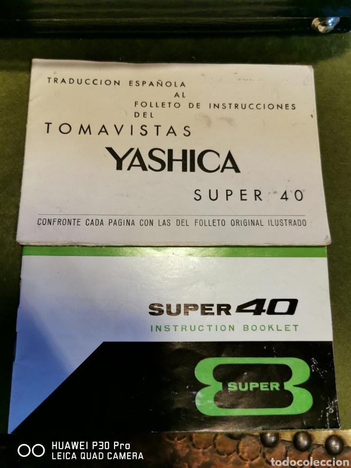 Cámara de fotos: Cámara Tomavistas Yashica súper 40 - Foto 10 - 196097178