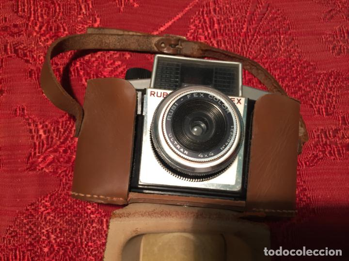 Cámara de fotos: Antigua maquina de fotos / fotografias marca Fex años 60 - Foto 5 - 196209128