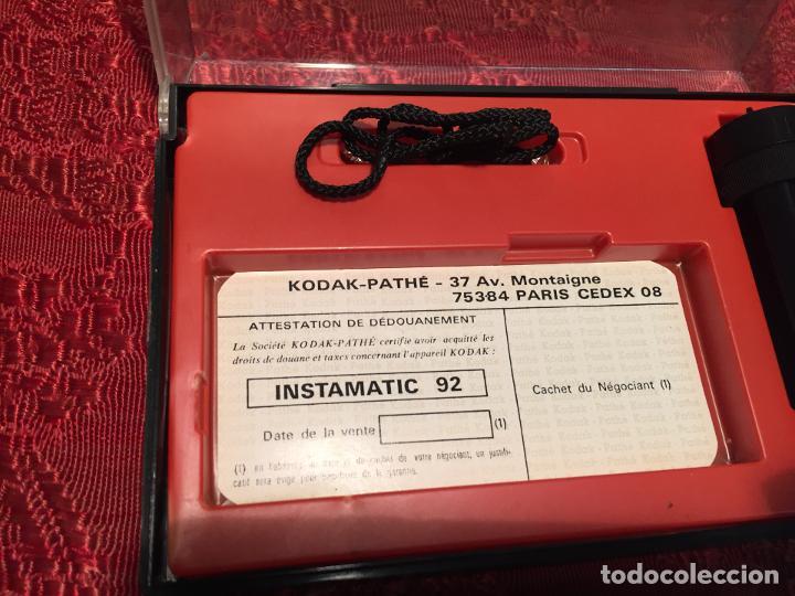 Cámara de fotos: Antigua maquina de fotos / fotografias marca Kodak Instamatic años 70 -80 - Foto 7 - 196210221