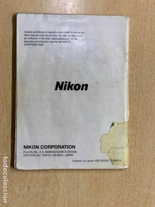 Cámara de fotos: MANUAL DE INSTRUCIONES NIKON F 100 - Foto 2 - 196420392