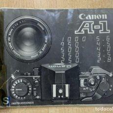 Cámara de fotos: MANUAL DE INSTRUCCIONES CANON A-1. Lote 196420557