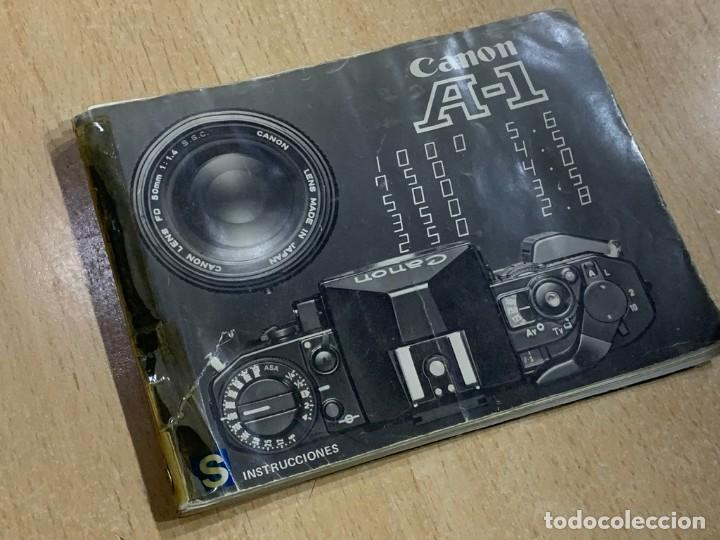 Cámara de fotos: MANUAL DE INSTRUCCIONES CANON A-1 - Foto 2 - 196420557