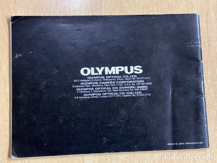 Cámara de fotos: MANUAL DE INSTRUCCIONES OLYMPUS OM10 - Foto 2 - 196420658