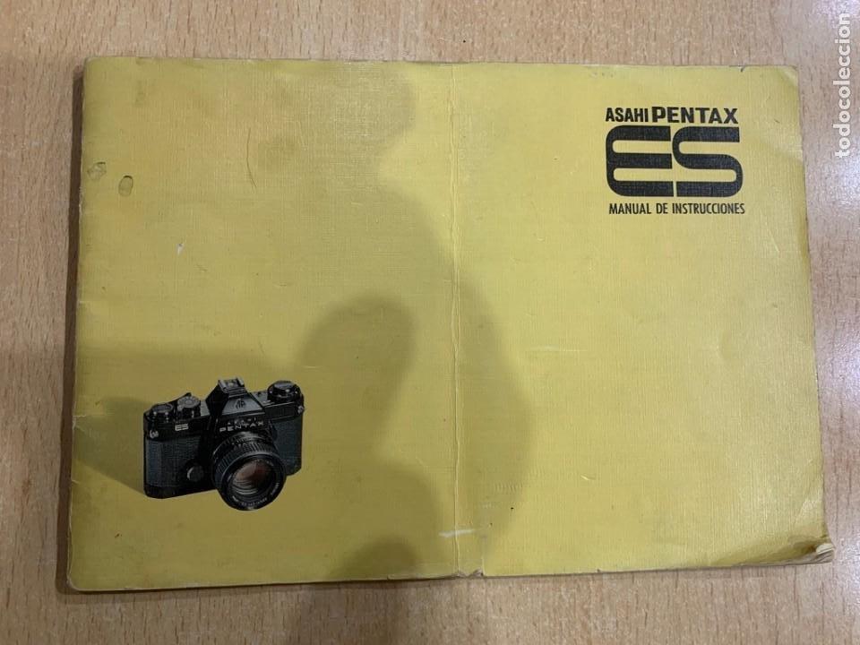 MANUAL DE INSTRUCCIONES PENTAX ES (Cámaras Fotográficas - Catálogos, Manuales y Publicidad)